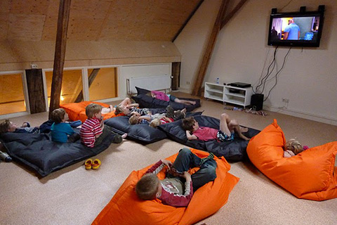 TV kamer groepsverblijf