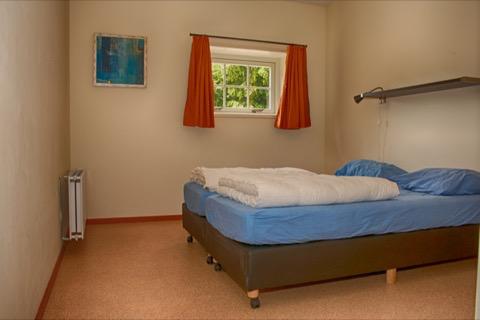 Slaapkamer in groepsaccommodatie